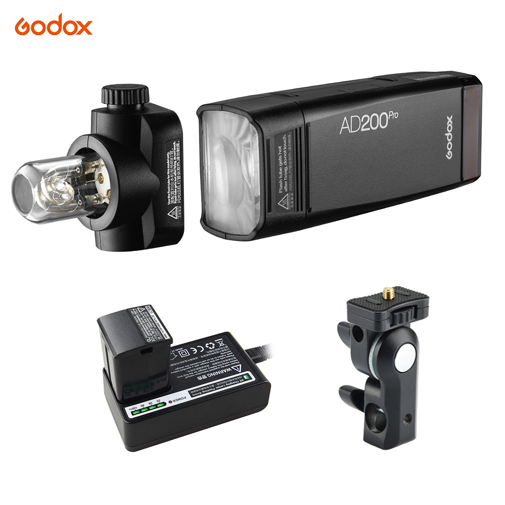Godox Flash Portable Wireless Ttl Flash With Changeable Flash Head 1 8000s Hss 2 4g Wireless