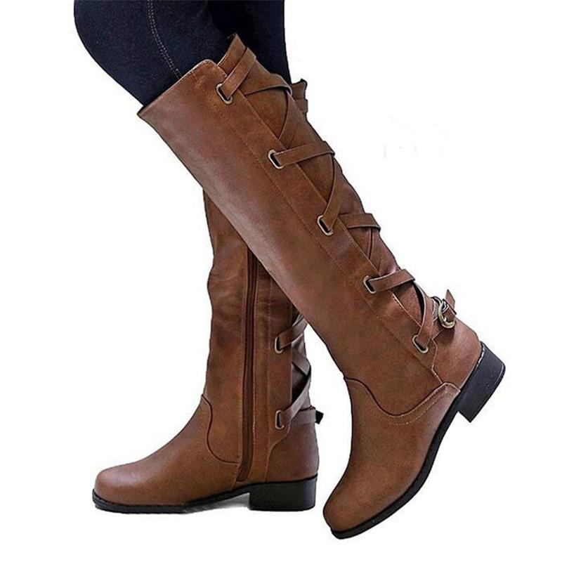 sapato-feminino-riding-boots-women-shoe-low-heels-round-toe-girls-knee-high-martin-booties-cross (3)_