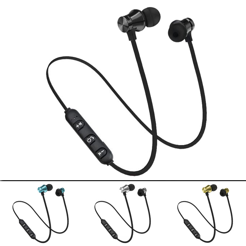XT-11 Sports Wireless Bluetooth Earphones Stereo Headset Magnetic Earpiece Waterproof Headphones With Mic for iPhone Android