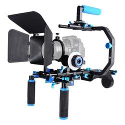 D206 DSLR camera cage shoulder mount kit suit for all DSLR camera and camcorder