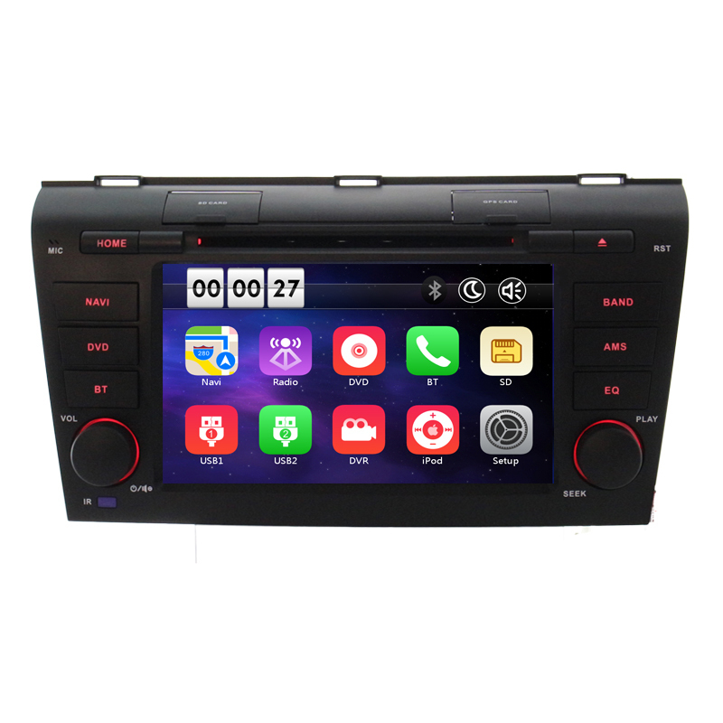 Neue Wince 8,0 Auto DVD Player Für <font><b>Mazda</b></font> 3 2004 <font><b>2005</b></font> 2006 2007 2008 2009 in GPS Navigation Karte Radio video audio RDS Ipod image