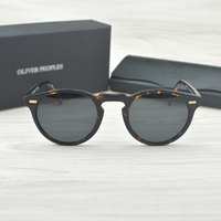 Gregory Peck Brand Designer Men Women Sunglass Vintage Polarized Oliver Peoples Sunglasses OV5186 Retro Sun