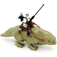 Star Wars 7 Dewback Desert Storm Soldiers Troopers Minifigures Building Blocks Toys Kids Action Figure Gift