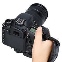 1Pc עור מפוצל רך תיק ידית תיק רצועת יד לניקון עבור canon ברשמקולים עבור slr/dslr מצלמה