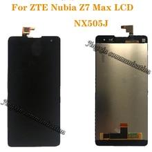 """5,5 """"дисплей для ZTE Nubia Z7 Max NX505J ПОЛНЫЙ ЖК + сенсорный экран дигитайзер компоненты высокое качество запчасти для ремонта + Инструменты"""