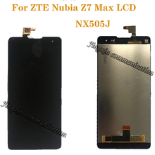 """5.5 """"عرض ل ZTE النوبة Z7 ماكس NX505J كامل LCD + محول الأرقام بشاشة تعمل بلمس مكونات أعلى جودة إصلاح أجزاء + أدوات"""