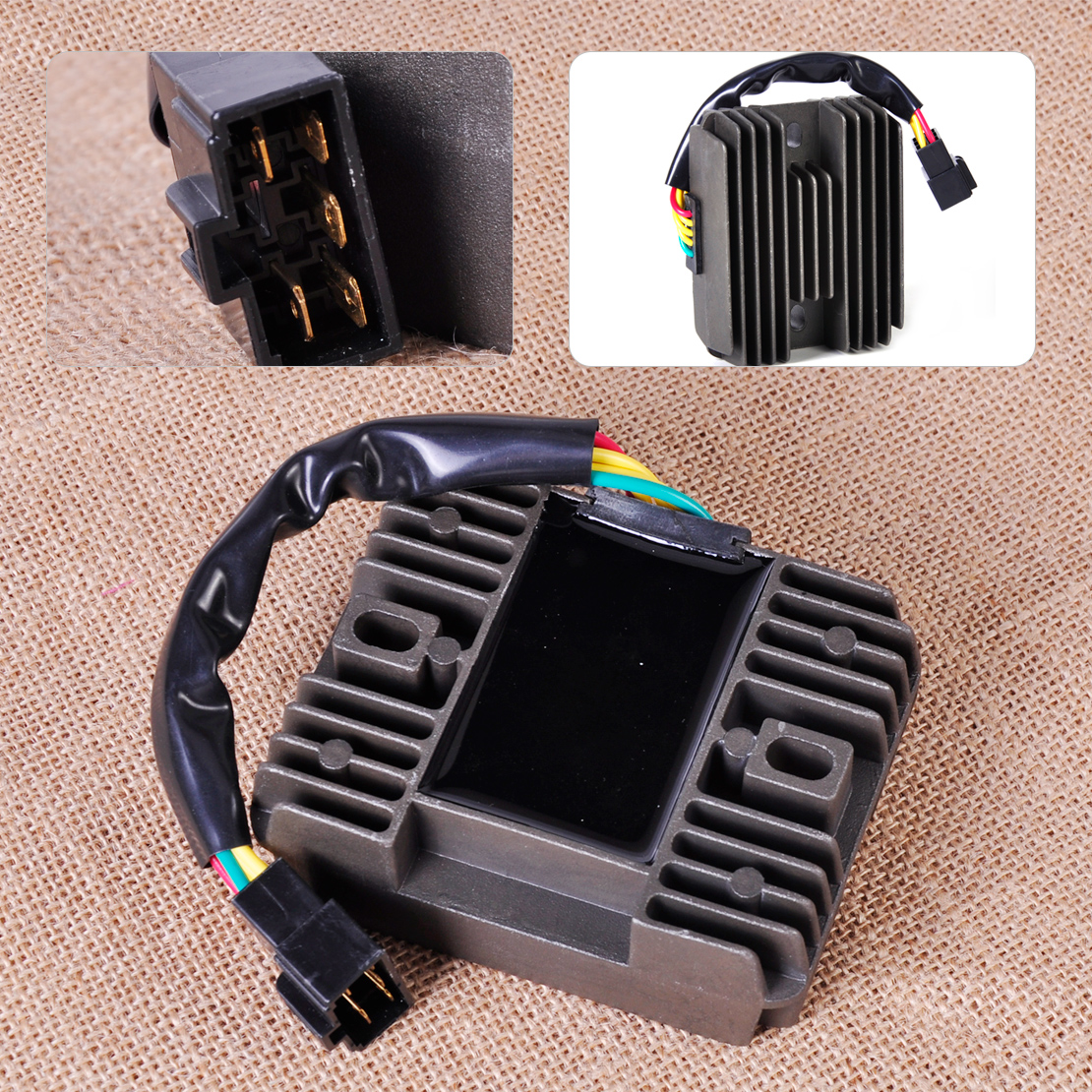 Citall motorcycle voltage regulator rectifier for suzuki gsxr600 gsxr750 gsxr1000 gsx1300r vl1500 intruder lt f500f