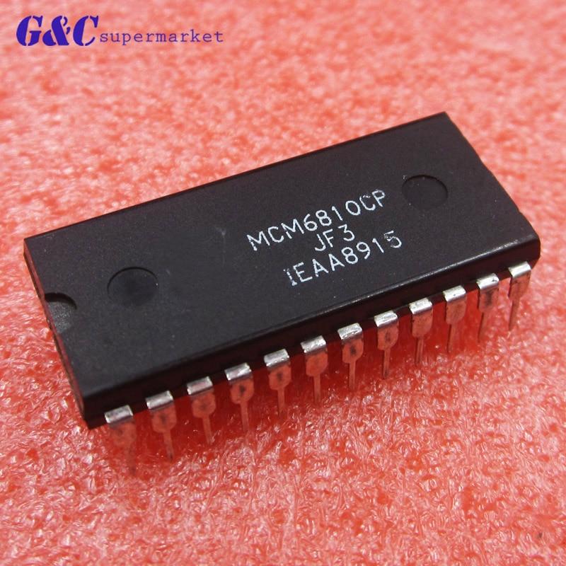 1/5PCS MCM6810CP MCM6810 6810 DIP-24 128 8-bit Random-Access Memory