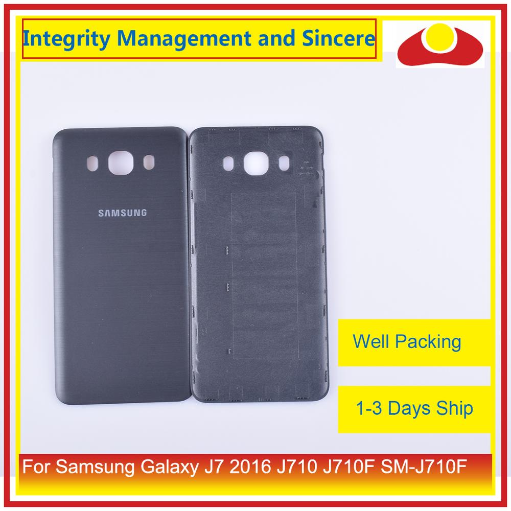 Image 5 - 50Pcs/lot For Samsung Galaxy J7 2016 J710 SM J710F J710M J710H J710FN Housing Battery Door Rear Back Cover Case Chassis Shell-in Mobile Phone Housings & Frames from Cellphones & Telecommunications
