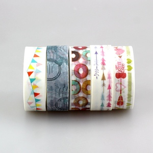Image 2 - wholesale 80pcs/lot Kawaii Colorful 531 Patterns Tape dots, chevron, flower, flags,gold and christmas  japanese paper washi tape