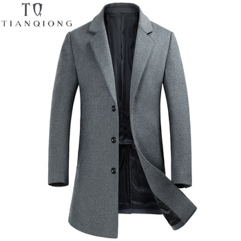 2018 New Arrival Winter High Quality Wool Men's Single Breasted Trench Coat,winter Coat Men,Double-sided Cashmere Trench Coat фото