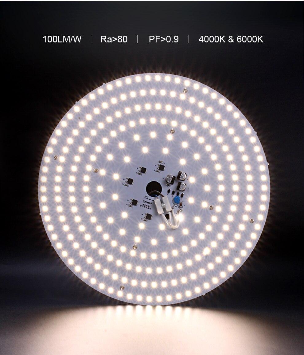 36 40 led placa luz 220 v