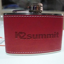 K2 k2 summit stainless steel hip flask outdoor camping hip flask