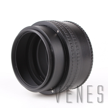 Venes Macro Tube Adapter  25 55mm M65 to M65 Mount Lens Adjustable Focusing Helicoid