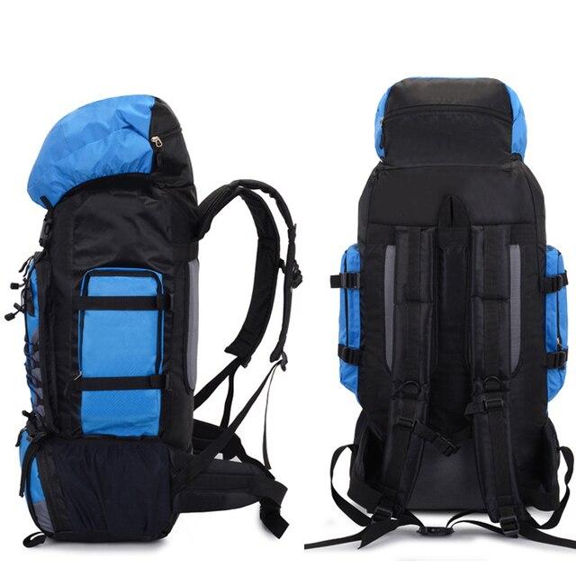 90L  Travel Bag Camping Backpack Hiking Army Large Capacity Sport Bag 3