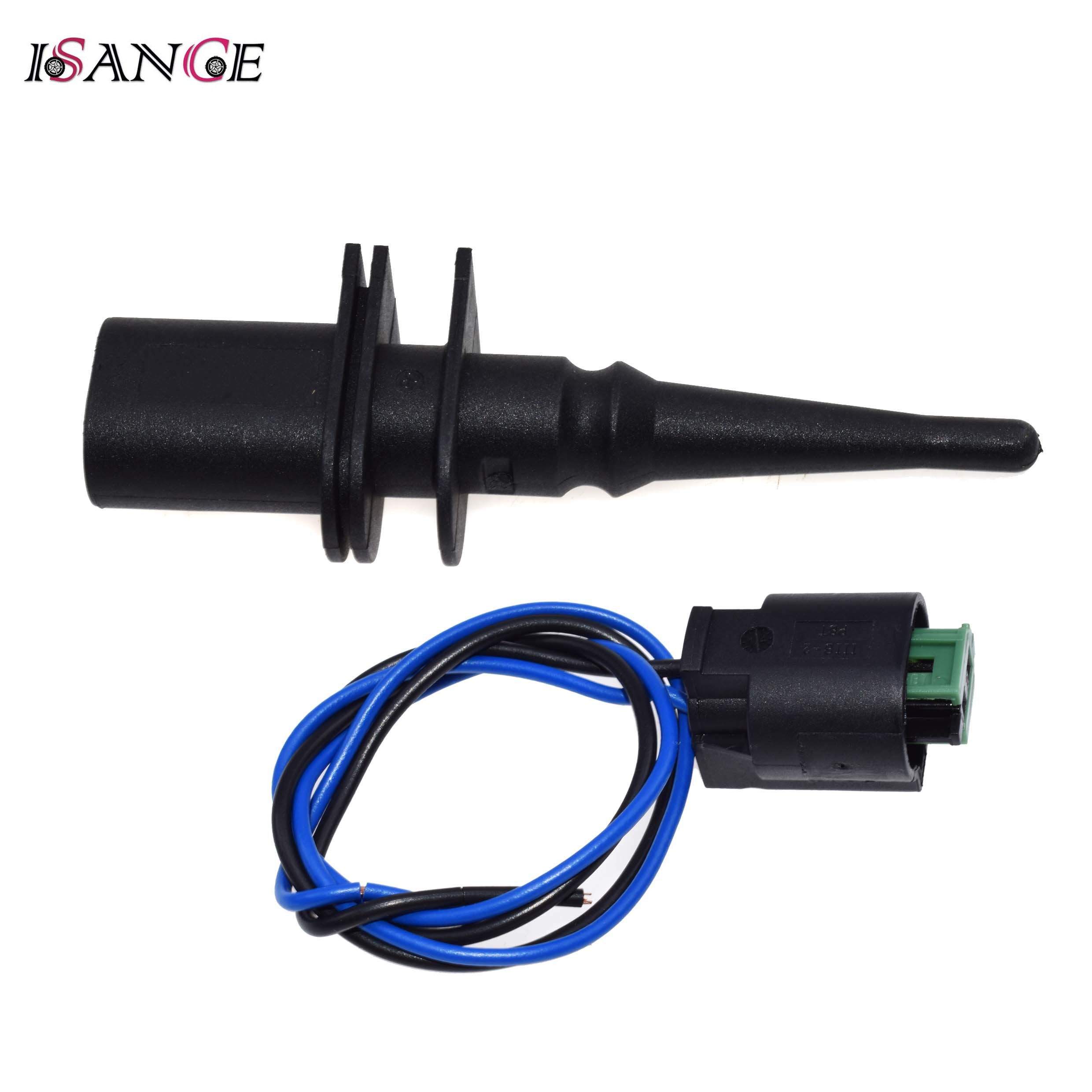 Coolant Temperature Sensor fits BMW 540 E39 4.4 96 to 04 Sender Transmitter Febi