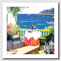 The Lookout Stage Oil Painting Beautiful Canvas Prints Scenery Picture Art For Home Decoration 24 X24