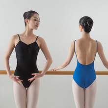 Adult camisole backless ballet dance leotard clothes for women's art examination dancing practise leotard wear JQ-340 dance clothes for children and women camisole clothes cotton spandex ballet body girls backless dance leotard jq 291