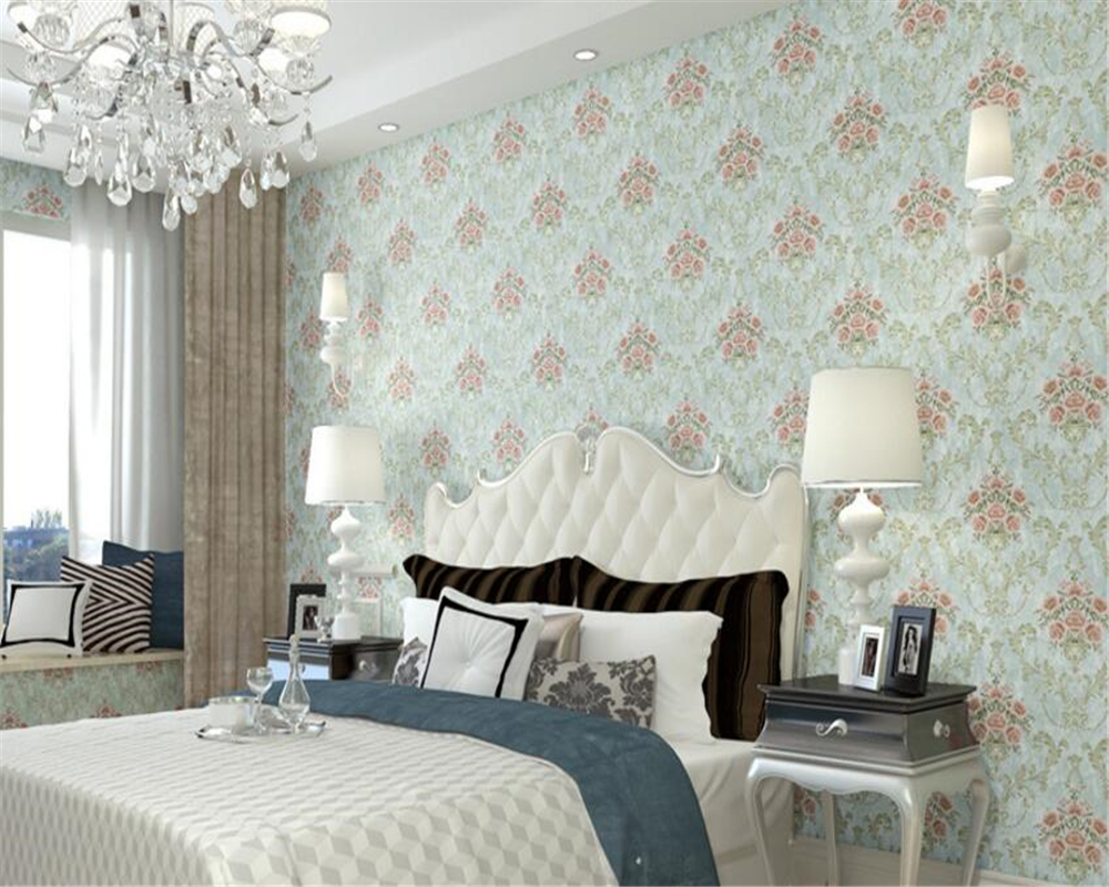 beibehang papel de parede American pastoral nonwovens deep embossed wallpaper background 3D relief retro 3d wallpaper wall paper beibehang pastoral nonwovens fashion