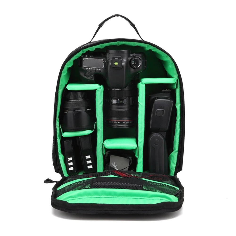 Outdoor Upgrade Waterproof Photography Camera Bag for Nikon Canon Sony DSLR Travel Digital Camera Backpacks Camping Video Bag
