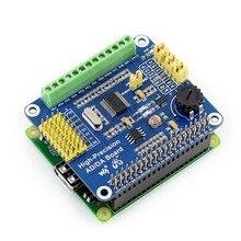 ADS1256 DAC8552 Alta Precisión AD/DA Módulo Digital Tarjeta de Expansión Para Raspberry Pi A +/B +/2B RP014