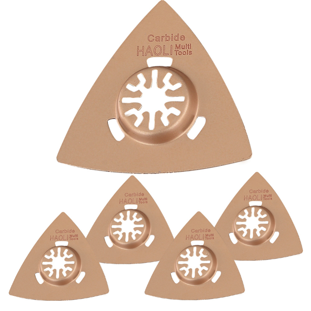 цена на FREE SHIPPING 5pcs triangle 78mm brazed carbide blade saw for nail tile brisk home decoration at good price and fast delivery