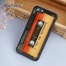 MaiYaCa Awesome mix cassette Phone Case For iPhone 5 6s 7 8