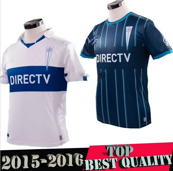 f97d22dbe 2015 2016 Thai version Universidad Catolica Club camiseta de colo colo Home  Kit Club Santiago de Chile Catholic University en Camisetas de fútbol de ...