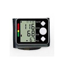 Автоматический цифровой Bloeddrukmeter Pols Manchet Arm Bloeddrukmeter Meter Gauge Meten Armband Apparaat Huishoudelijke монитор