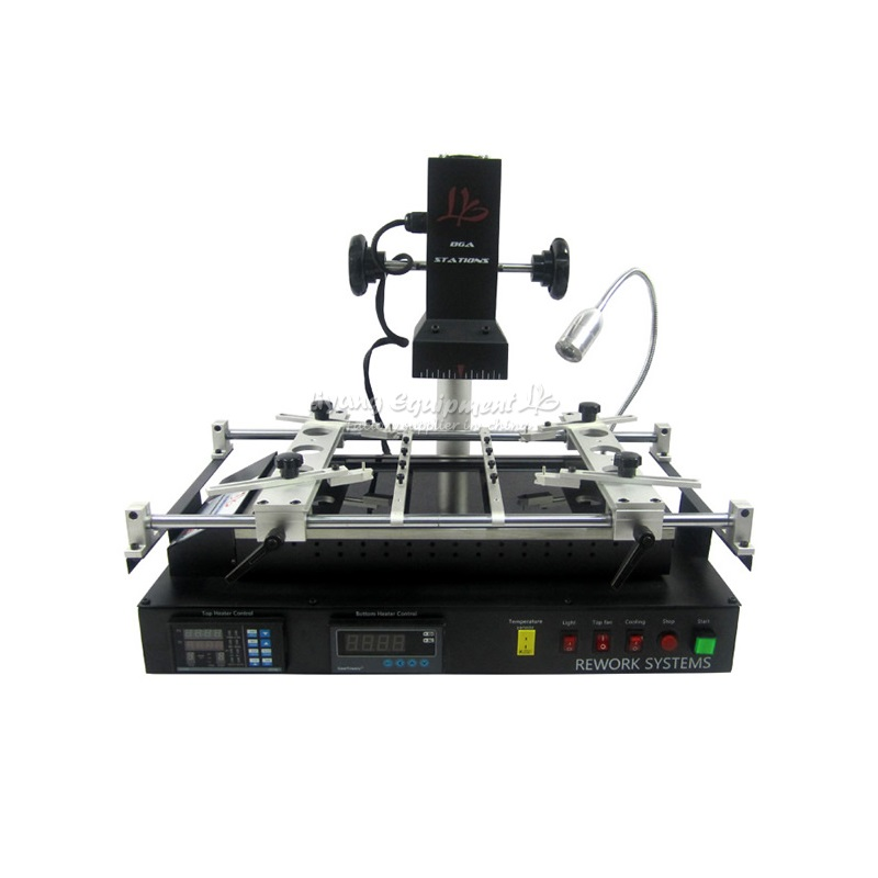 Russia tax-free shipping LY IR8500 IR BGA Rework Station reballing machine good function easy use free tax