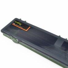 Hirisi Carp Fishing Tackle Box Stiff Hair Rig Board with Pins Carp Fishing Rig Box Wallet Rig Storage Box