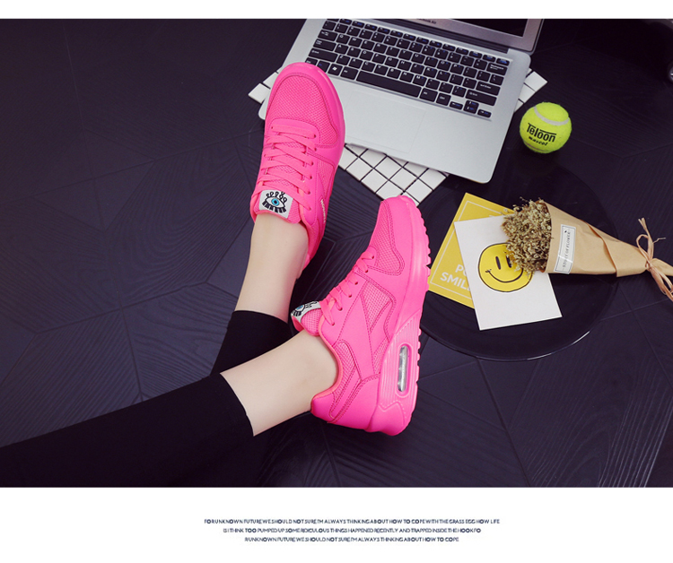 18 Fashion Sneakers Women Shoes Spring Tenis Feminino Casual Shoes Outdoor Walking Shoes Women Flats Pink Flas Ladies Shoes 38