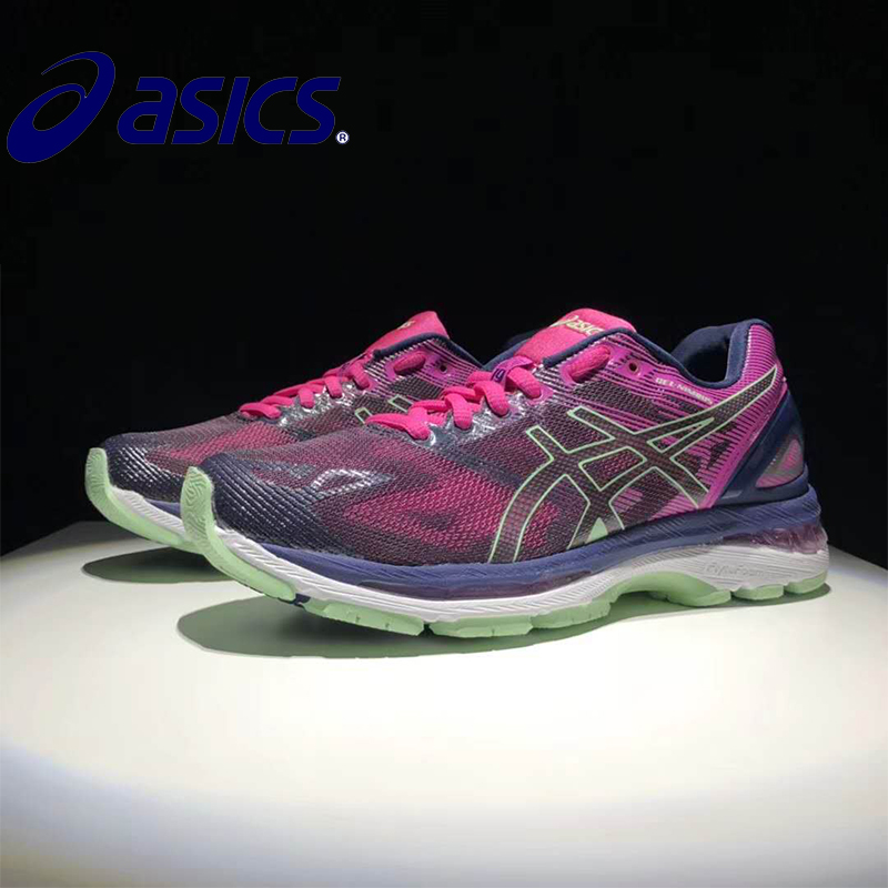 Original New Arrival ASICS GEL-KAYANO 19 T750N-9093 2018 Official Asics Woemn's Sneakers Portable Outdoor Athletic shoes цена