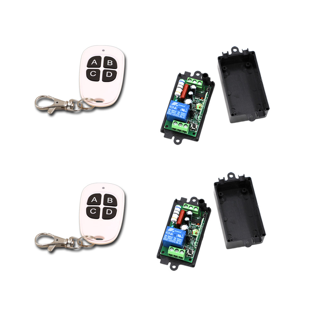 Cheap Price AC220V 110V 1CH RF Wireless Remote Control Switch System 220V Relays Receiver Remote Control Transmitter 315/433 good price wireless 1 channels 220v lamp remote control switch receiver transmitter used in household stairs corridor promotion