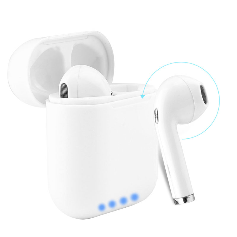 Tws Tws Earbuds Charging Case Wireless Bluetooth Earphone Power Bank With Microphone Handsfree Calls BYE-I8 tws 5 0 bluetooth earphone true wireless sport earphone waterproof stereo earbuds with microphone for handsfree calls yz214