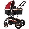 Absorvedores de choque de carro do bebê luz carrinho de criança carrinho de bebê duplo carrinho de criança Alta paisagem carrinho de bebê Frete grátis