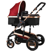 baby stroller trolley dual stroller light baby car shock absorbers High landscape baby stroller Free shipping