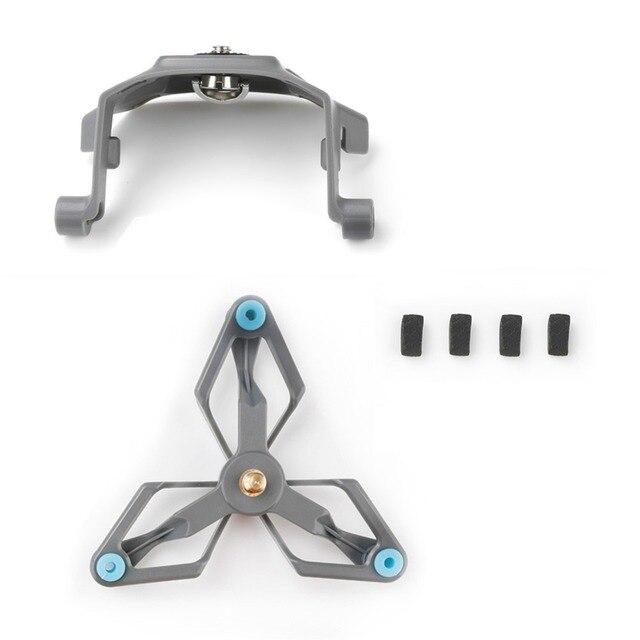 Para a Ação Gopro Camera Estabilizador Suporte para DJI Mavic 2 Pro/Zoom Zangão Adaptador de Suporte de Montagem Acessórios