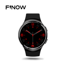 HOT Finow X3 Plus Smart Watch android K9 PK KW88 DM368 Android 5.1 MTK6580 1GB+8GB Quad Core Smartwatch Heart Rate iOS Android