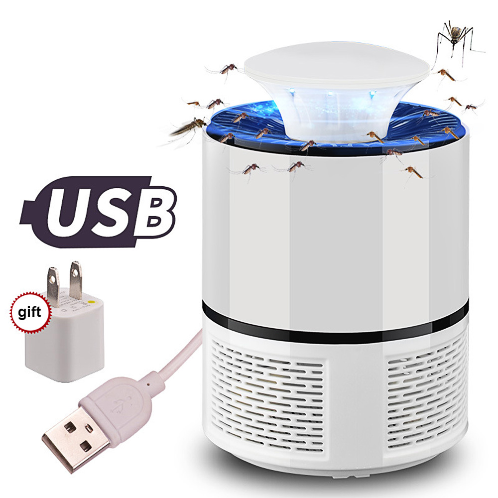 LED Mosquito Killer Lamp Photocatalyst USB Anti Fly Electric Mosquito LightLED Bug Zapper Mosquito Killer Insect Trap Lamp цена