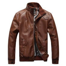 Hot High Quality Men's Leather Jackets Motorcycle Clothing Leisure Coat Jackets Windbreaker Men,m-3xl