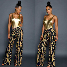 African Dress Real Polyester 2017 Women's Digital Printing Pants African New Women Clothing