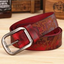2017 new arrival genuine leather belt women cowgirl stylish ladies waist strap wide designer belts size 125cm waistband s0836