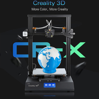 110V 220V 480W CR X DIY 3D Printer Kit 300*300*400mm Printing Size Dual clolor Nozzle 4.3Inch Screen 3D Printer