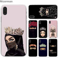 Muslim Islamic Gril Eyes Arabic Hijab Girl Phone Cases for Apple iPhone 7 8 Plus 6 6s Plus X XS XR XS MAX 5 5s Cell Phone Case C