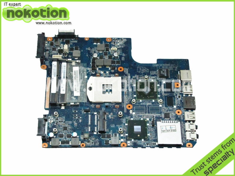 NOKOTION A000073400 For Toshiba Satellite L640 Motherboard Intel hm55 ddr3 ati HD 4500 Graphics DATE2DMB8D0 REV D free shipping for toshiba satellite l640 l645 a000073390 notebook laptop motherboard 100