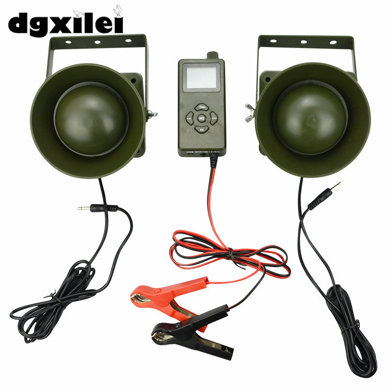 Xilei New 2*60W Loud Speaker Hunting Goose Duck Caller Decoys Decoy Hunting Bird Sounds Mp3 Outdoor Hunting With Timer