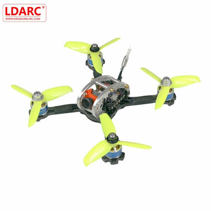 KingKong/ldarc FPV-системы яйцо Pro 138 мм RC FPV-системы Racing Drone PNP w/f4 osd 4 в 1 20A ESC 25 МВт/100 МВт 16ch VTX ccd600 600 ТВЛ NTSC Cam