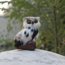 Factory price new design realistic home decoration owls decoys