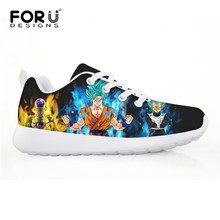 1ba97741f4a FORUDESIGNS Dragon Ball Z Printing Anime Children Sneakers for Boys Kids Soccer  Shoes Comfortable Sport Running